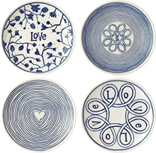 Royal Doulton ED Love Accents Blue Love Plate 6