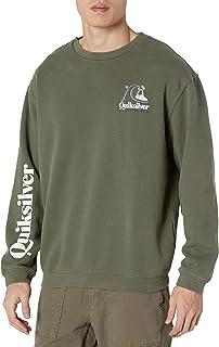 Quiksilver Men's Sweet as Slab Crew Fleece Sweatshirt