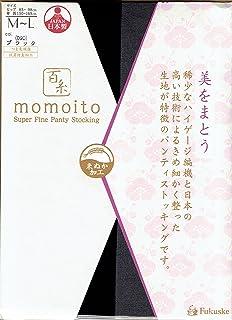 百糸 momoito ストッキング (512本編ハイゲージ?つま先補強?米ぬか加工)(日本製 Made in Japan) 福助