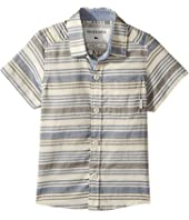 Quiksilver Kids - Aventail Short Sleeve Button Up Shirt (Toddler/Little Kids)