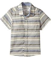 Quiksilver Kids - Aventail Short Sleeve Button Up Shirt (Toddler/Little Kids)