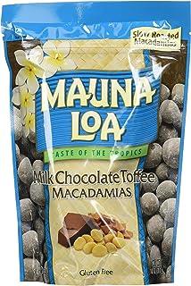 Mauna Loa Premium Hawaiian Roasted Macadamia Nuts, Milk Chocolate Toffee Flavor, 10 Ounce Bag (Pack of 1)