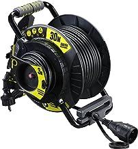 Masterplug OATRG3016RRFL3IP-PX Pro-XT Gartenkabeltrommel mit Anti-Twist-Funktion, 30m  3m Verlängerungskabel mit Thermoschutz