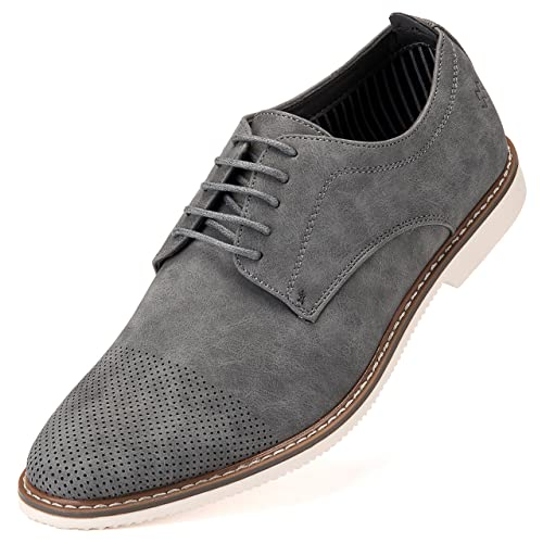 f5d002ca72b Mens Casual Shoes Suede Oxford Business Dress Shoes for Men - in A Shoe Bag