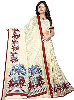 Best red bhagalpuri silk saree Reviews