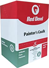 Red Devil Painters Caulk White, 10.1 Oz., Case of 12