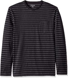 Amazon Essentials Men's Slim-Fit Long-Sleeve Pocket T-Shirt
