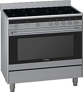 Siemens Hy738357m 90x60 Cm Ceramic Cooker, Silver, 1 Year Warranty