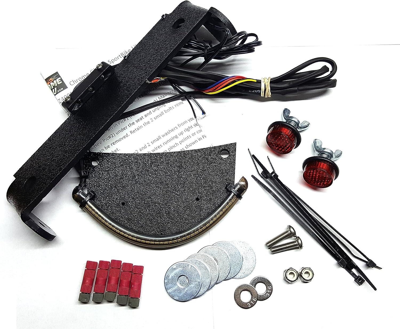 Suzuki DR-Z400 Integrated LED Light Fender T Eliminator with Bar Max 81% Very popular OFF