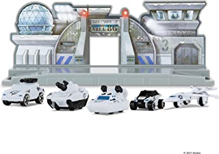 Micro Machines MMW0200 World Packs, Micro Protection Force-Features 5 Highly Detailed Vehicles and Corresponding MM City S...