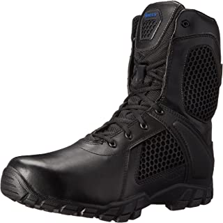 Men's 8 Inch Strike Side Zip Waterproof Tactical Boot