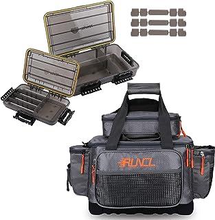 RUNCL Fishing Tackle Storage Bags & Waterproof Storage Boxes 3600 & Large 3700