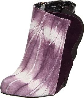 purple irregular choice shoes