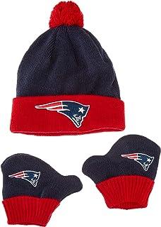 promo code 98a43 8492c NFL Unisex-Baby NFL Infant Pow Pow OTS Knit Cap   Mittens Set