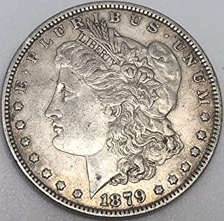 1879 P Silver Morgan Beautiful Wild West ERA Dollar Extremely Fine Details Condition