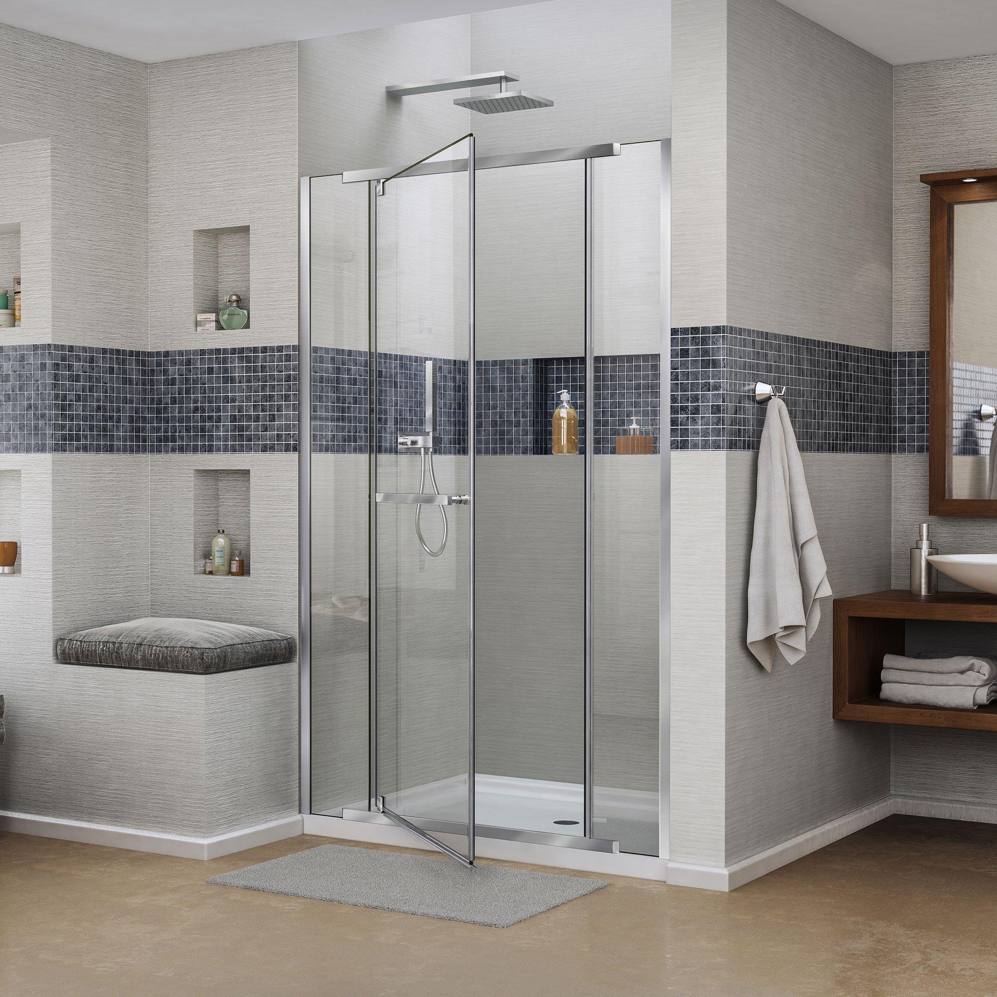 Vitreo-x DreamLine a 58 cm 149,23 mampara de ducha sin Marco ...