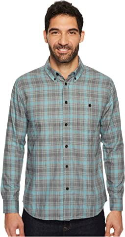 Quiksilver Waterman - Cortez Straight Long Sleeve Flannel Shirt