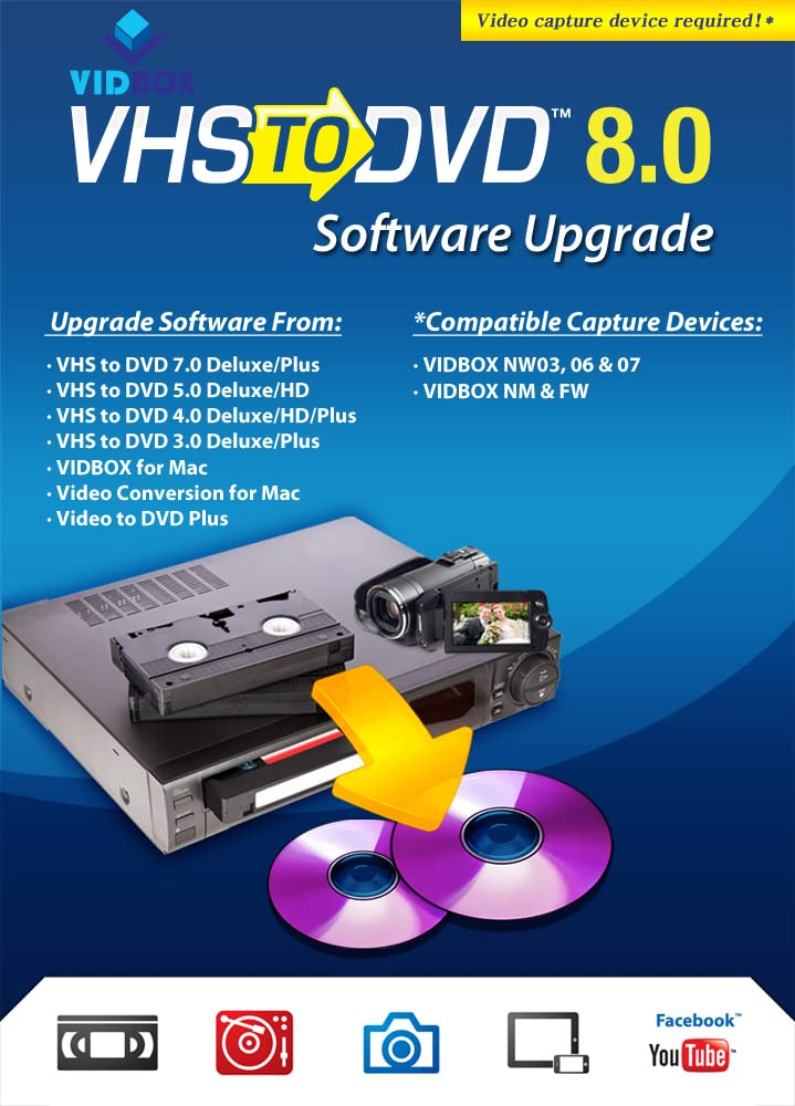 trust VHStoDVD 8.0 Software Download Upgrade trend rank