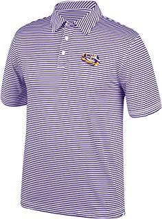 Top of the World NCAA Men's Lsu Tigers Team Color Stretch Bunker Polo Purple X Large