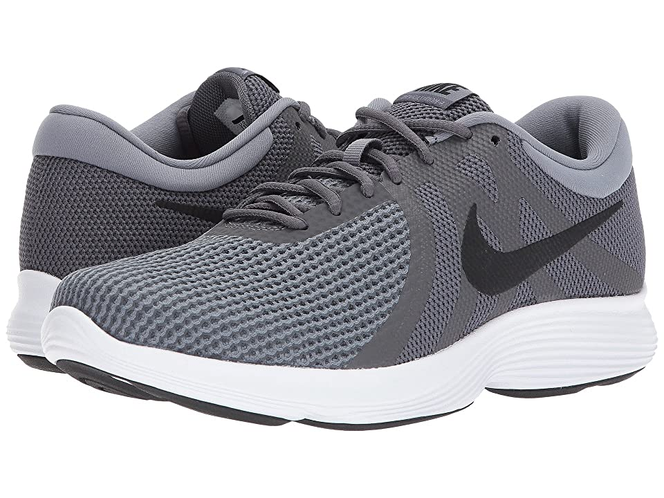 Nike Revolution 4 (Dark Grey/Black/Cool Grey/White) Men's Running Shoes