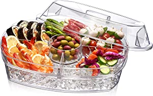 Prodyne Ice Party Platter, 15 1/2