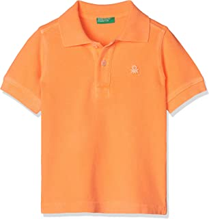 United Colors of Benetton Erkek Çocuk Tişört Benetton Logo Pike Polo Tshirt