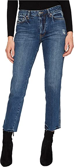 Free People - Slim Boyfriend - Steel Blue