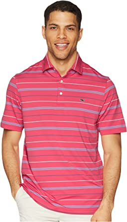 Jones Multi Stripe Sankaty Performance Polo