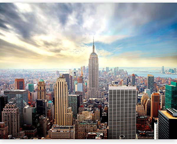 Artgeist Photo Wallpaper New York 154 X 122 XXL Peel And Stick Self Adhesive Foil Wall Mural Removable Sticker Premium Print Picture Image Design Home Decor 100404 126