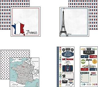 Scrapbook Customs France Adventure Scrapbook Kit