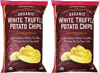Trader Joe's Organic White Truffle Potato Chips 6oz(Pack of 2)