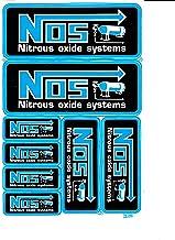 Auto PKW aufkleber reflective Sticker NOS NitrousOxide N2O laminated tuning car