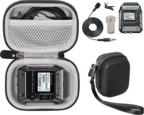 popular getgear case for Zoom F1-LP Lavalier Body-Pack Recorder Audio for Video Recorder, Organizer wholesale for Zoom F1-LP, Lavalier Microphone, SD Cards, outlet online sale Battery online sale
