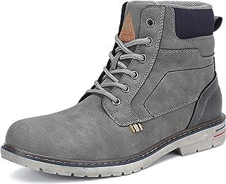 comprar comparacion Mishansha Botas Hombre Botines Impermeable Antideslizante Trekking Zapatos