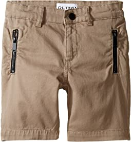 DL1961 Kids - Finn Chino Jogger Shorts in Hutch (Toddler/Little Kids/Big Kids)