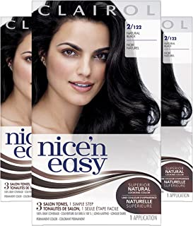 clairol blue black hair dye