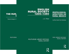 Routledge Library Editions: Rural History (16 Book Series)