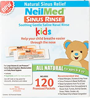 Neil Med Sinus Rinse Pediatric Packets, Premixed 120/box