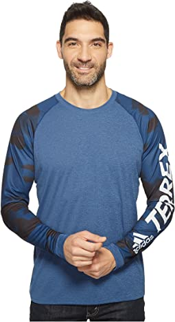 adidas Outdoor - Trailcross Long Sleeve Shirt