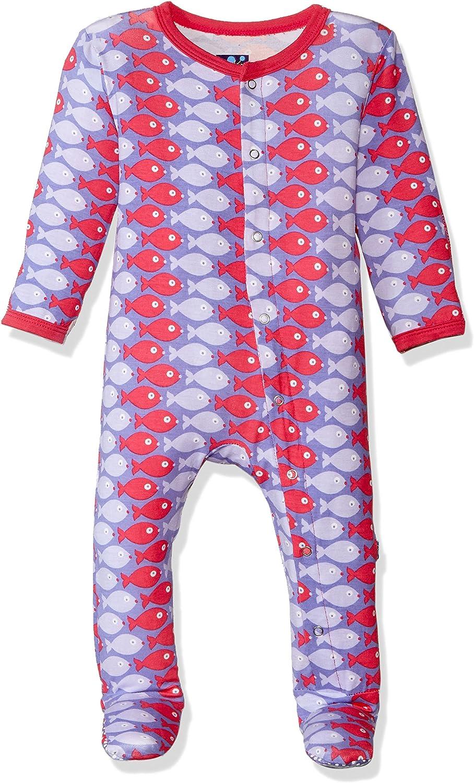 Kic Kee Pants Baby Print Prd-kpf175-fmnp Tampa Award Mall Girls' Footie