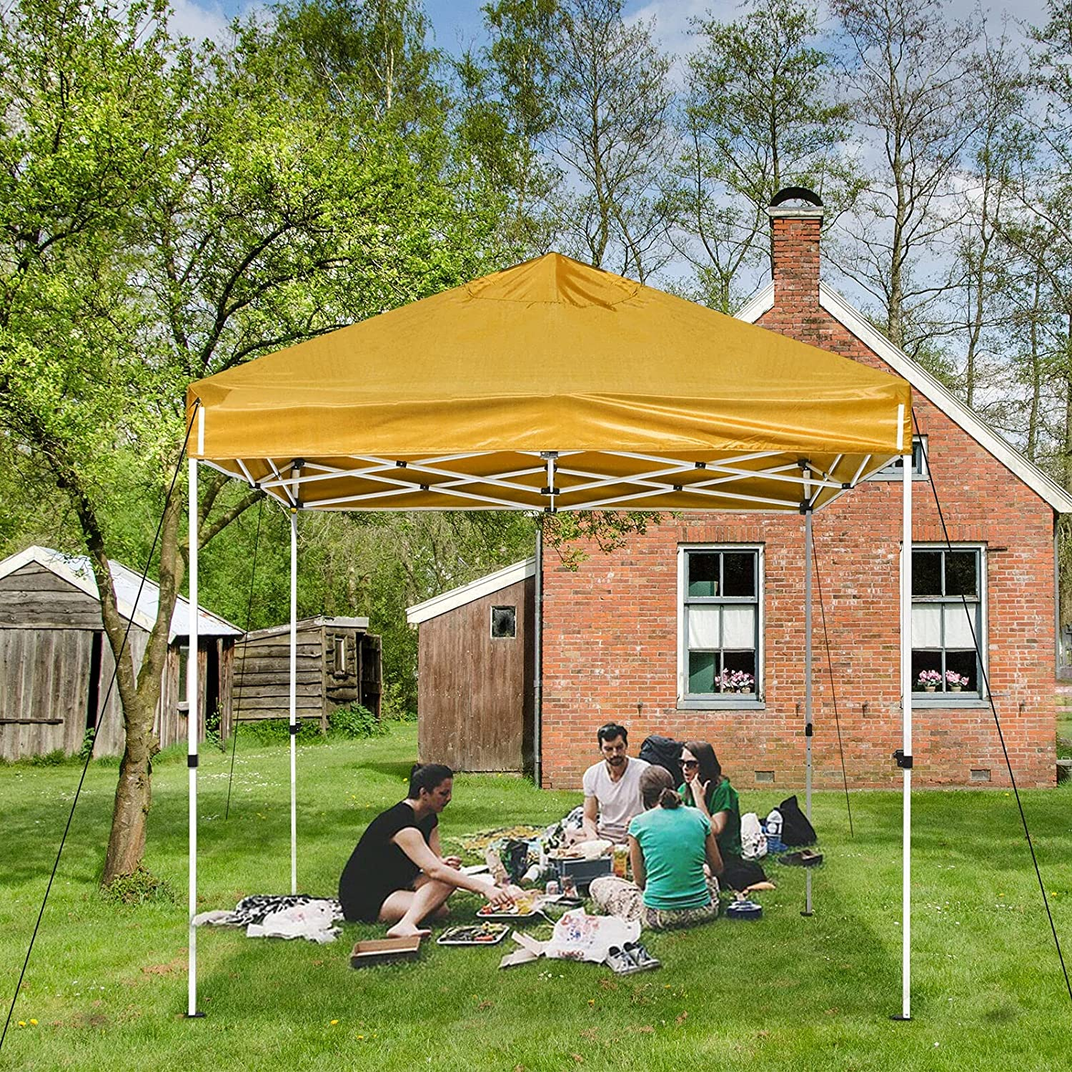 YJYDD 10x10ft High order Pop Up Canopy Tent B with Shelter Max 72% OFF Instant Portable