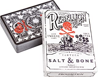 Ellusionist Salt and Bone Rebellion Rum Playing Cards - Pirate Theme - Prohibition Series