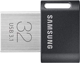 Samsung FIT Plus MUF-32AB/APC, Pendrive, 32 GB, Szary/Czarny