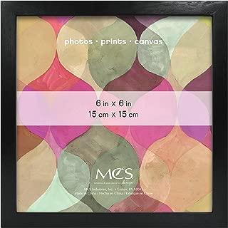 MCS 6x6 Inch Art Frame, Black (47557)