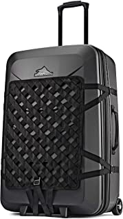Hardside Luggage Suitcase with Spinner Wheels - Large 30 inch, Expandable, Black Away Luggage, by High Sierra