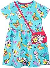 Peppa Pig Girls' Dress and Bag Set