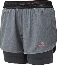 Ronhill womens infinity marathon twin shorts running jogging RRP £ 50.00