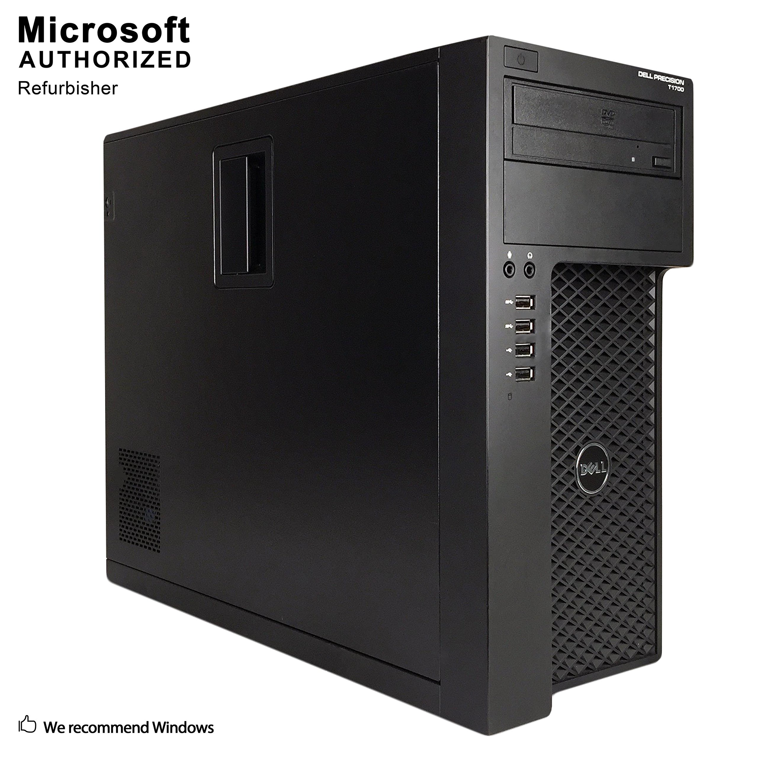 Dell T1700 Workstation Refurbished Support English