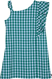 Nautica Girls' Patterned Sleeveless Dress