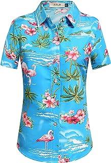 Kfulemai Womens Flamingo Shirt